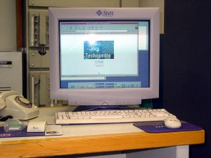 تکوپدیا بر روی Sun Enterprise 5500